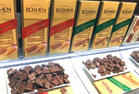 roshen ukranie schokolade